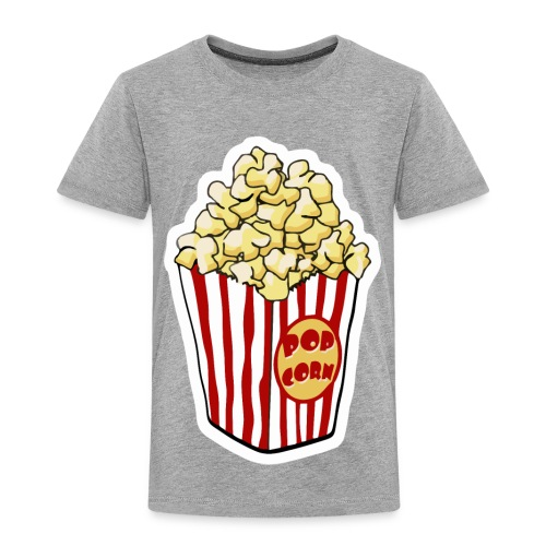 Popcorn Cartoon Pop Corn - Toddler Premium T-Shirt