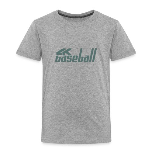 4kBaseball Logo - Toddler Premium T-Shirt