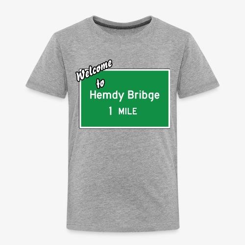 HEMDY BRIBGE Indian Trail Shirt - Toddler Premium T-Shirt