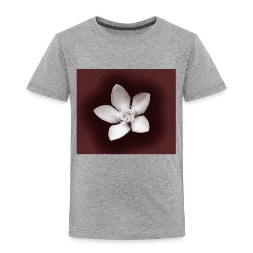 Beautiful Flower Design - Toddler Premium T-Shirt