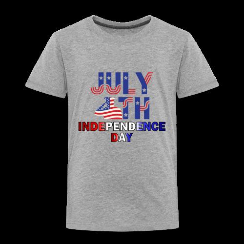 UNIQUE DESIGN 4th OF JULY T-SHIRTS - Toddler Premium T-Shirt