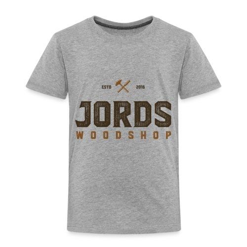 New Age JordsWoodShop logo - Toddler Premium T-Shirt