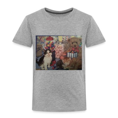 Candy and animals - Toddler Premium T-Shirt