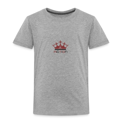 Lit Action Red Crown - Toddler Premium T-Shirt