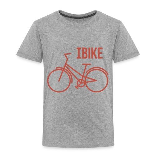 I Bike - Toddler Premium T-Shirt