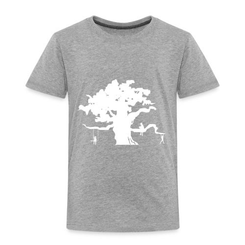 WD icon white - Toddler Premium T-Shirt