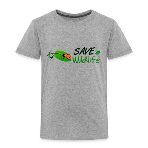 Save Wildlife - Toddler Premium T-Shirt