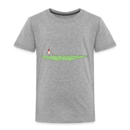 Croc & Egg Christmas - Toddler Premium T-Shirt