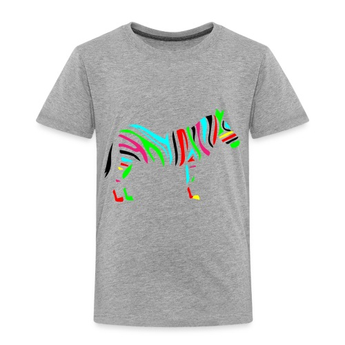 Wild_zebra - Toddler Premium T-Shirt