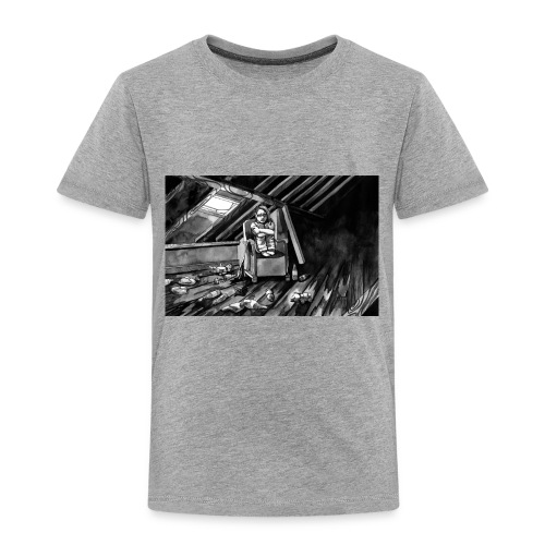 Bex Hiding from Zombies - Toddler Premium T-Shirt