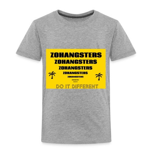 Big To Small ZOHANGSTERS TEE - Toddler Premium T-Shirt