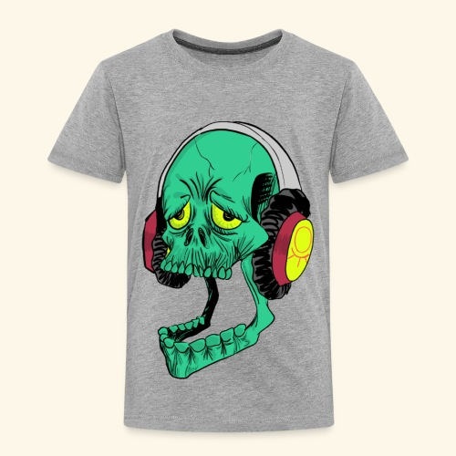 Mr. Green skull - Toddler Premium T-Shirt