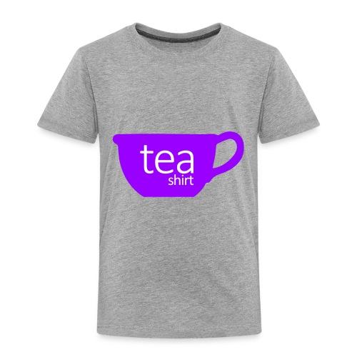 Tea Shirt Simple But Purple - Toddler Premium T-Shirt