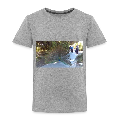 Peacock with wings - Toddler Premium T-Shirt