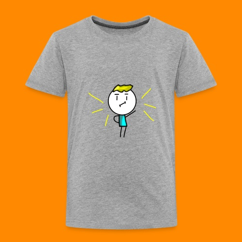 V-neck and more (Amazing Man) - Toddler Premium T-Shirt