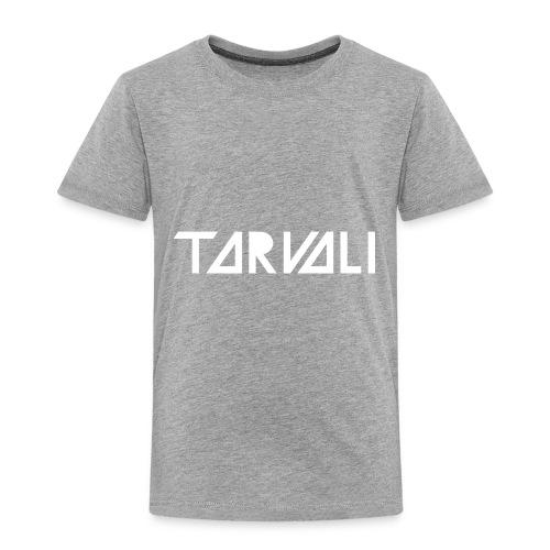 Tarvali White Logo - Toddler Premium T-Shirt