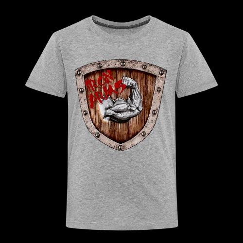 Iron Arms Shield Logo - Toddler Premium T-Shirt