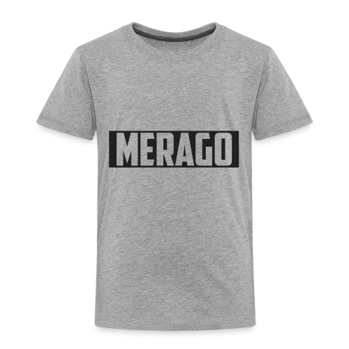 Transparent_Merago_Text - Toddler Premium T-Shirt