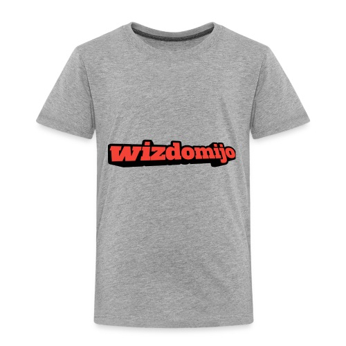 Wizdomijo big sighn - Toddler Premium T-Shirt