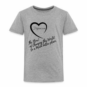 The Flow by Farjani.com - Toddler Premium T-Shirt