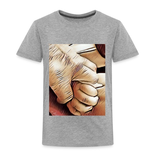 In time of need I'll hold your hand - Toddler Premium T-Shirt