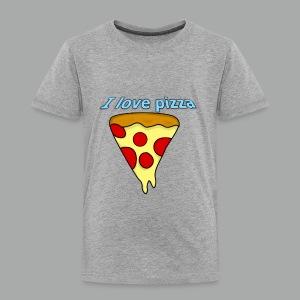 I love pizza - T-shirt premium pour enfants