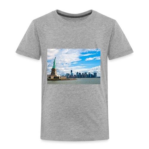 New York Skyline - Toddler Premium T-Shirt
