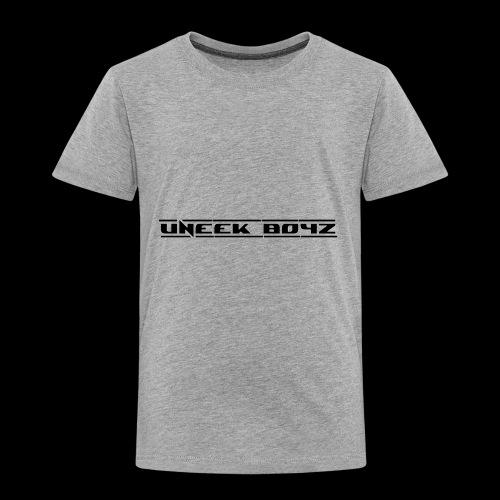 Uneek Boyz 2 - Toddler Premium T-Shirt