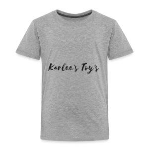 Karlee's Toy's - Toddler Premium T-Shirt