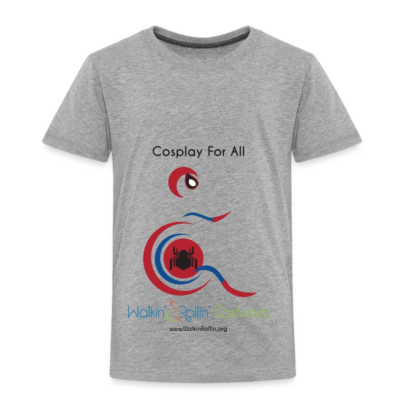 Cosplay For All: Spiderman - Toddler Premium T-Shirt