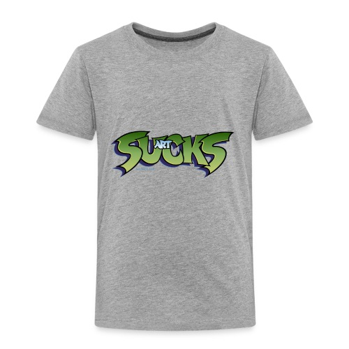 Art Sucks - Damned - Toddler Premium T-Shirt