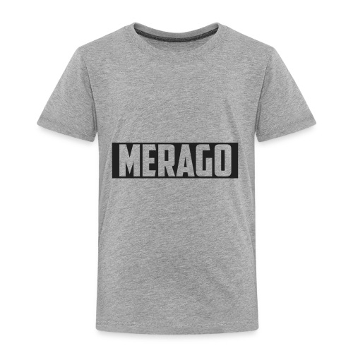 Transparent_Merago_Text - Toddler Premium T-Shirt