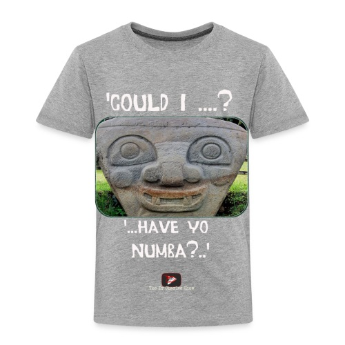 Alien Could I have your Number - Toddler Premium T-Shirt