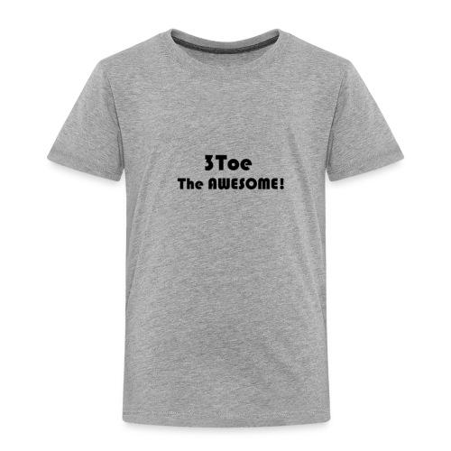 3Toe - Toddler Premium T-Shirt