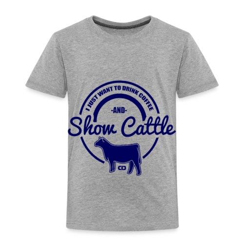 show cattle - Toddler Premium T-Shirt