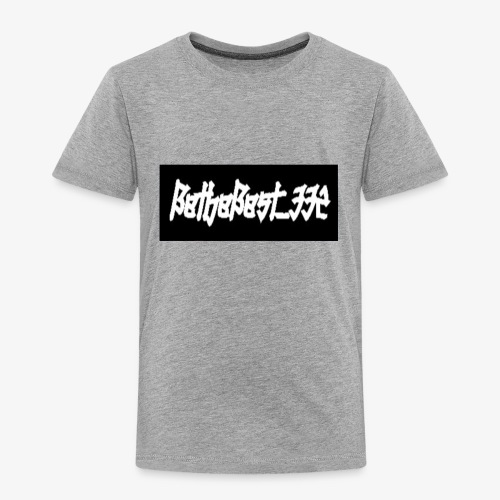 Bethebest332 logo - Toddler Premium T-Shirt