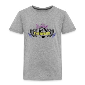 THE REMIX 2D LOGO WITH CITYSCAPE - Toddler Premium T-Shirt