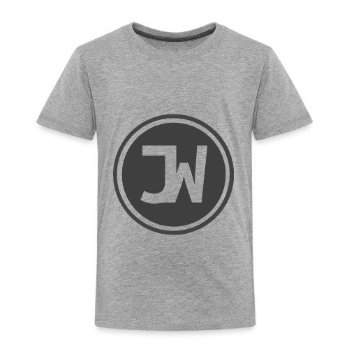 Grey Johannes With Logo - Toddler Premium T-Shirt