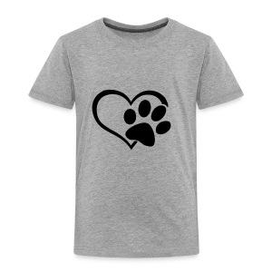 LOVE DOG - Toddler Premium T-Shirt