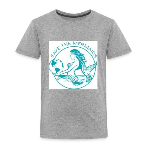 Save the mermaid - Toddler Premium T-Shirt