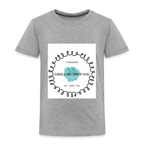 Isabella and London Vlogs Merch - Toddler Premium T-Shirt