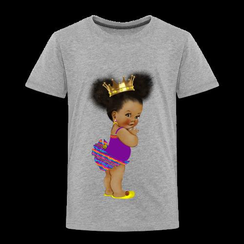 RPAfricanPrincess5-AfroPuffs - Toddler Premium T-Shirt