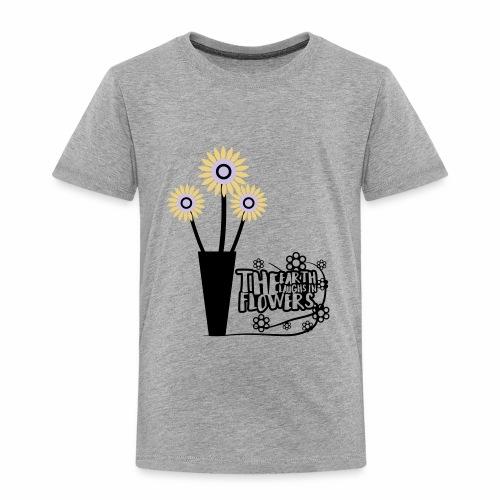 the flower - Toddler Premium T-Shirt