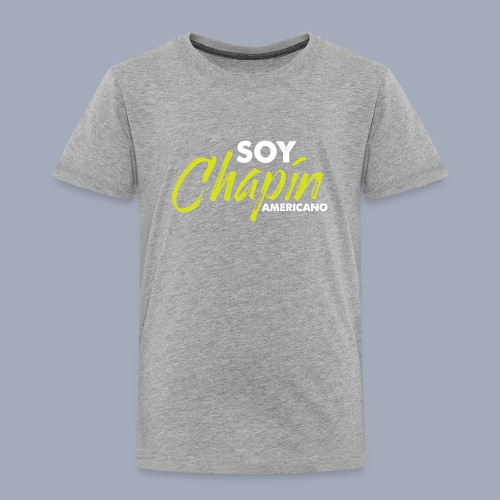 Soy Chapín Americano - green - Toddler Premium T-Shirt