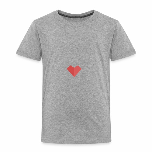 a loving heart on your clothing - Toddler Premium T-Shirt