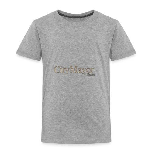 CityMayor Games Logo - Toddler Premium T-Shirt