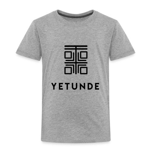 Full Logo Blk - Toddler Premium T-Shirt
