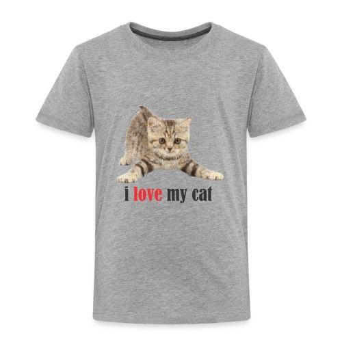lovecat - Toddler Premium T-Shirt