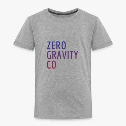 Zero Gravity Colorful Logo - Toddler Premium T-Shirt