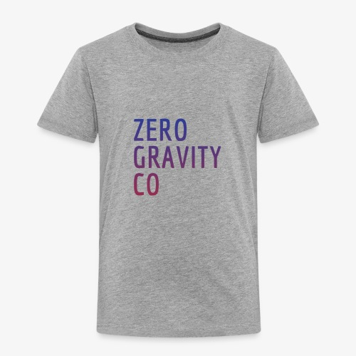 Zero Gravity Colorful Logo - Toddler Premium T-Shirt
